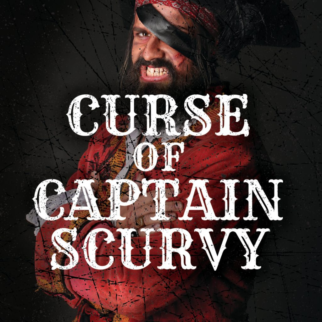 Curse of Captain Scurvy escape room